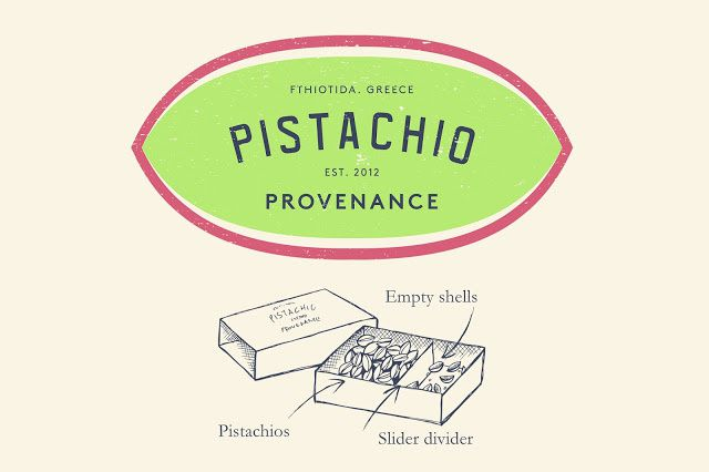 Pistachio Provenance (pistaches) | Design : Kingdom & Sparrow, Bath, Royaume-Uni (février 2016)
