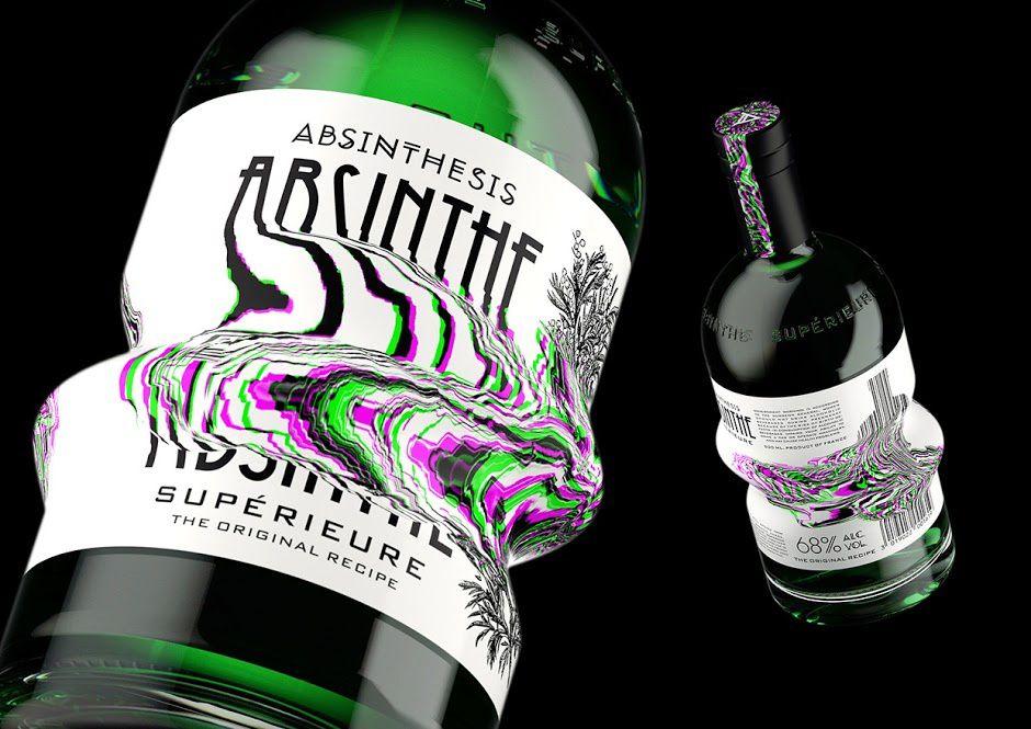 Absinthesis (absinthe) | Design (concept) : Yevgeny Razumov, Moscou, Russie (février 2016)