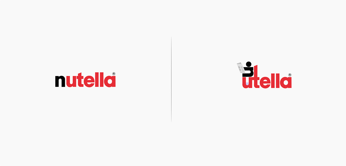 10 Logos affected by their products - Nutella   © Marco Schembri