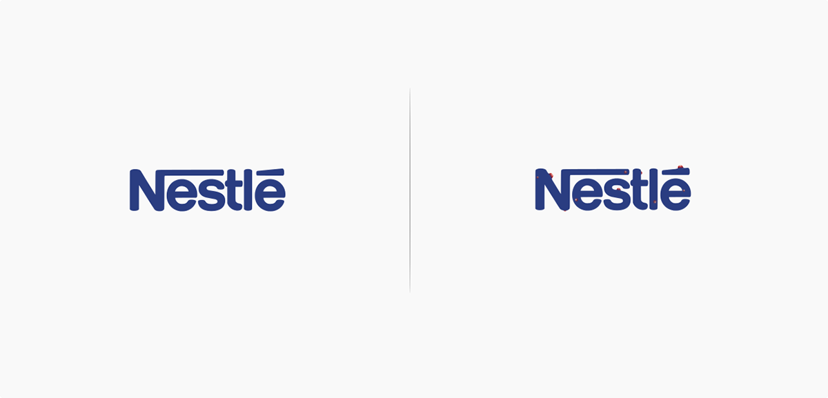 10 Logos affected by their products - Nestlé | © Marco Schembri