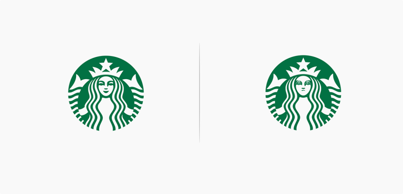 10 Logos affected by their products - Starbucks | © Marco Schembri