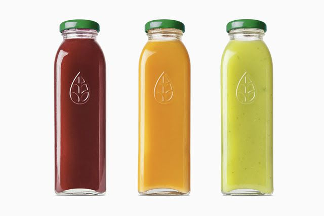 Green Press (jus de fruits pressés à froid) | Design :  Dimes Design, Melbourne, Australie (février 2016)