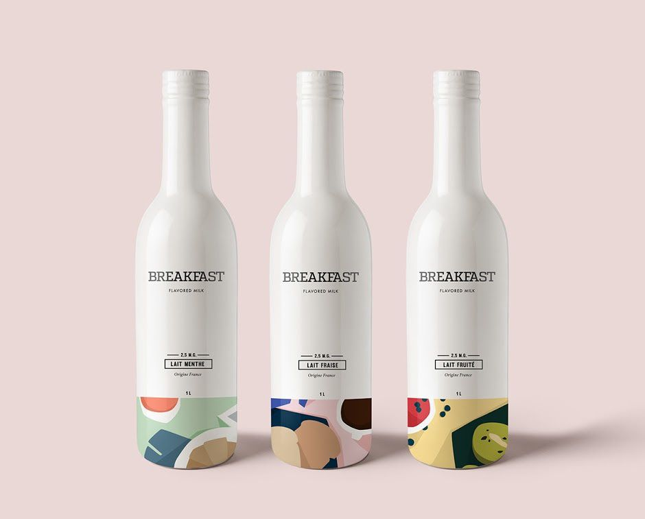 BREAKFAST (lait aromatisé) | Design (concept) : Kali Day, France (mars 2016)