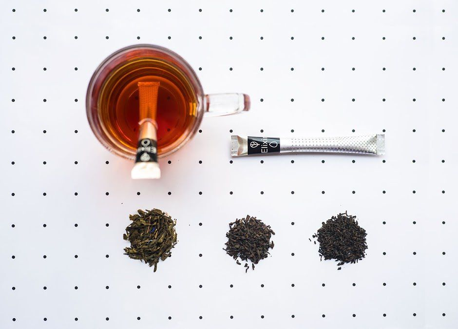 A New Tea Ceremony - Elixir Tea (thé en sticks) | Design : Typical. Organization, Athène, Grèce (mars 2016)
