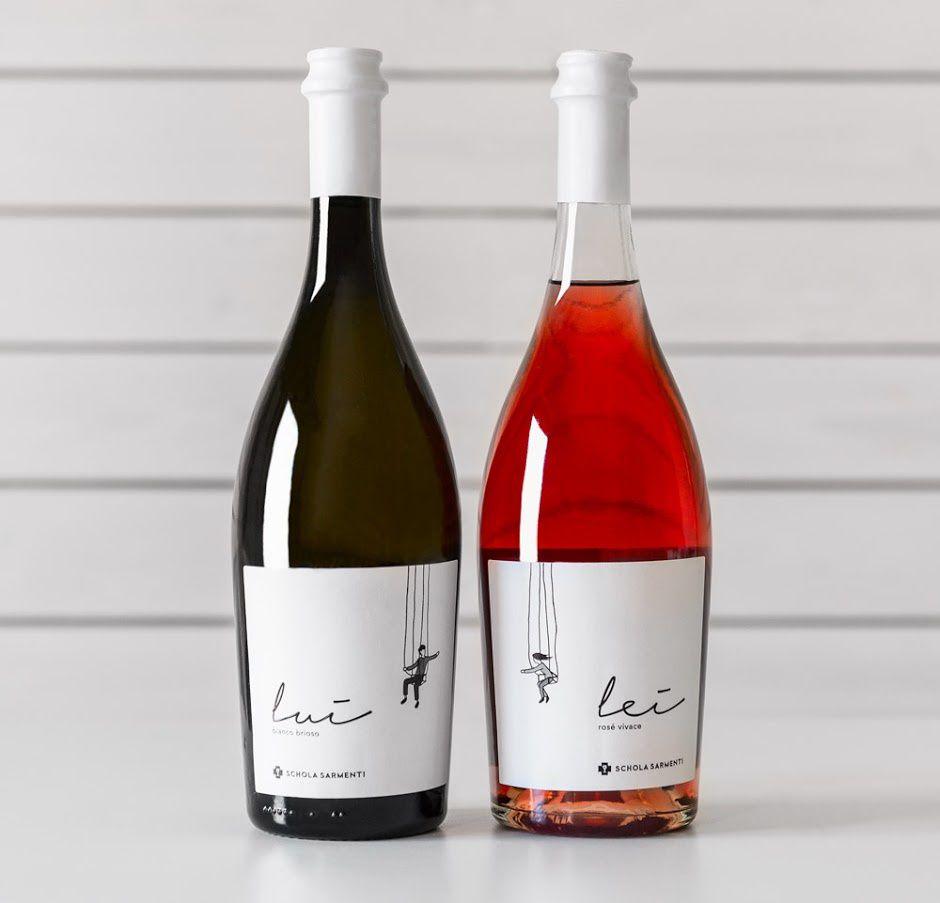 Lui & Lei - Schola Sarmenti (vin) | Design : Idem Design, Conversano, Italie (mars 2016)