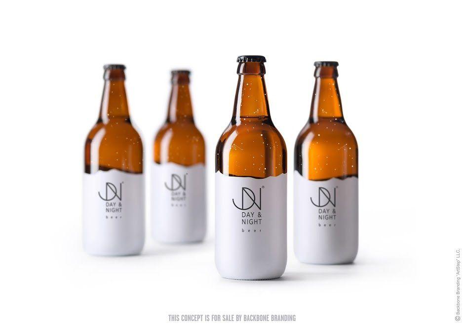 Day & Night (produits d'épicerie d'un restaurant) | Design (concept) : Backbone Branding, Yerevan, Armenie (mars 2016)