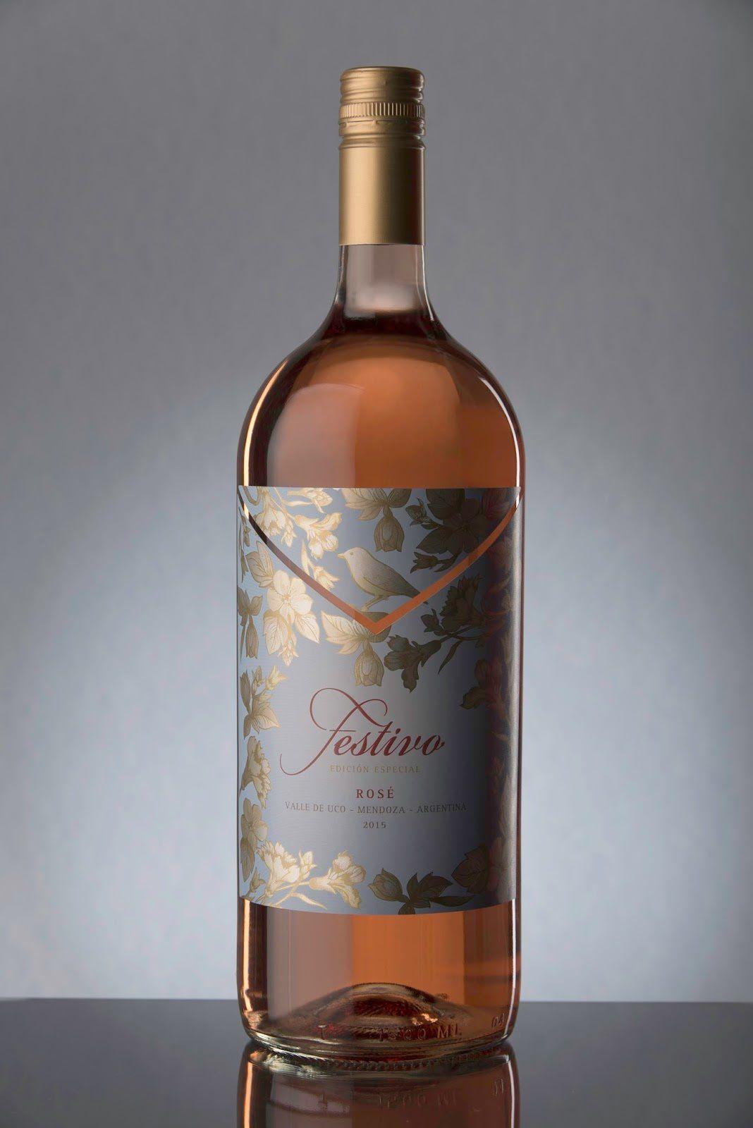 Festivo Rosé - Bodega Monteviejo (vin rosé) | Design : Arena-Bahamonde, Mendoza, Argentine (mars 2016)