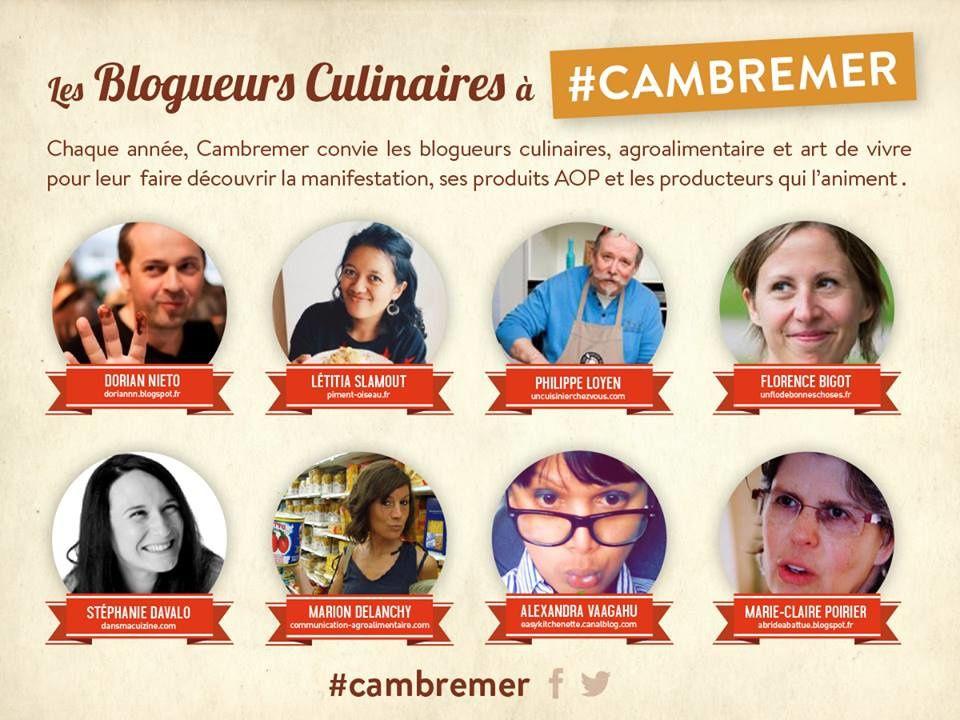 Retrouvez-moi aux Rencontres de Cambremer, le festival des produits AOC/AOP en Normandie !