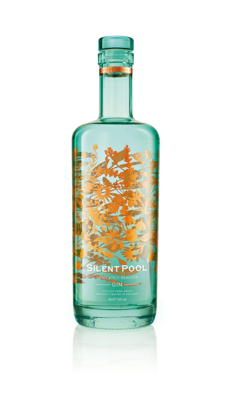 Silent Pool Distillers (gin) | Design : Seymourpowell, Londres, Royaume-Uni (avril 2016)
