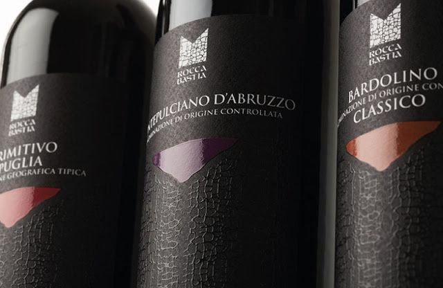 Rocca Bastia - Casa Vinicola Bennati S.p.A (vin) | Design : Weagroup, Castelfranco Veneto (TV), Italie (avril 2016)