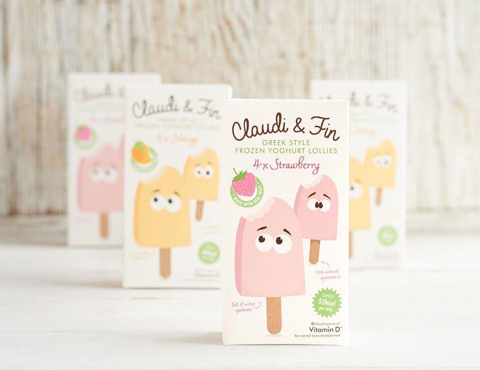 Claudi & Fin (glaces) | Design : Jackdaw Design, Londrs, Royaume-Uni (avril 2016)