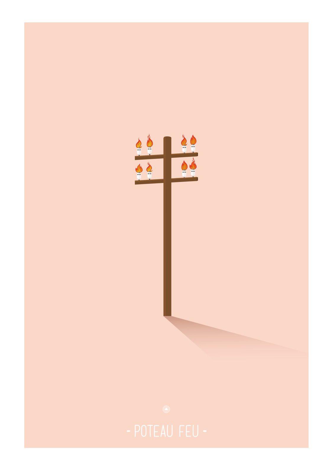 Poteau feu | © Les Mots Dits