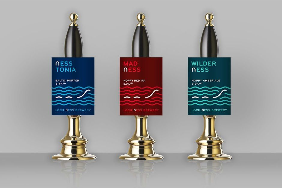 Loch Ness Brewery (bière) | Design : Thirst, Royaume-Uni (avril 2016)