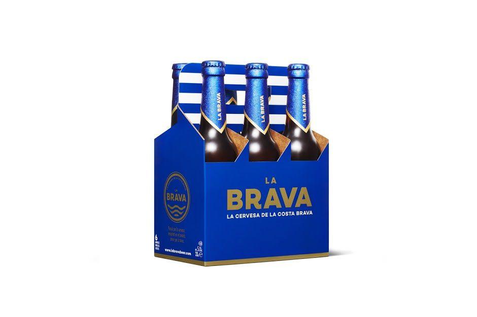 La Brava beer (bière) | Design : Comité Studio, Gérone, Espagne (mai 2016)
