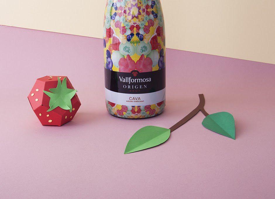 Vallformosa cava (vin pétillant, édition limitée du printemps) | Design : theroomrooms', Barcelone, Espagne (mai 2016)