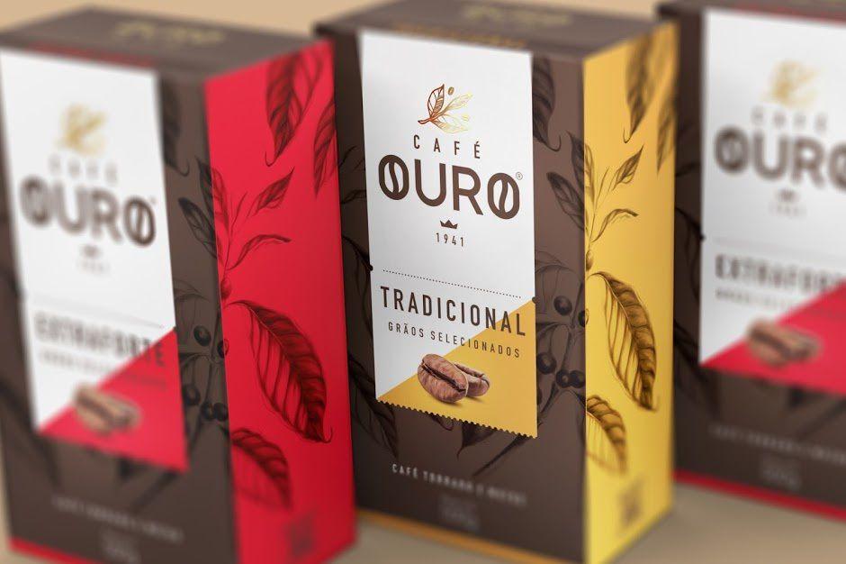 Café Ouro - Anju (café) | Design : FAZdesign, Joinville, Brésil (mai 2016)