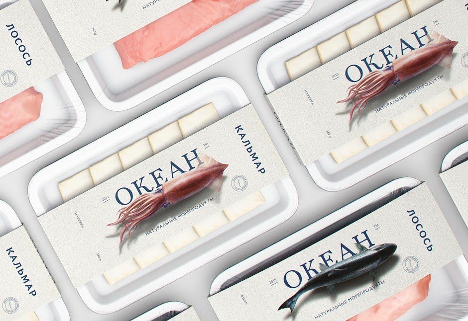 Ocean Trading Company - P (produits de la mer) | Design : Jekyll and Hyde, Saint Pétersbourg, Russie (mai 2016)