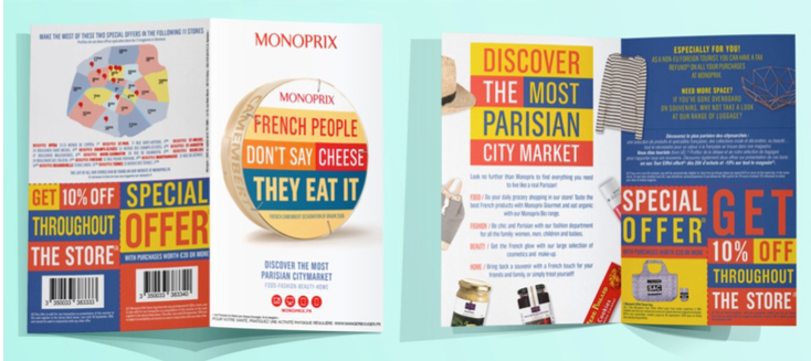 """Parisian way of life"" - Monoprix 