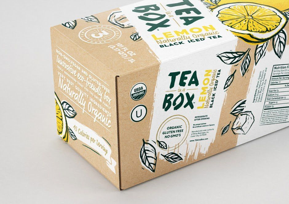 TEA in a BOX (thé) | Design : DDC Lab, Russie (juin 2016)