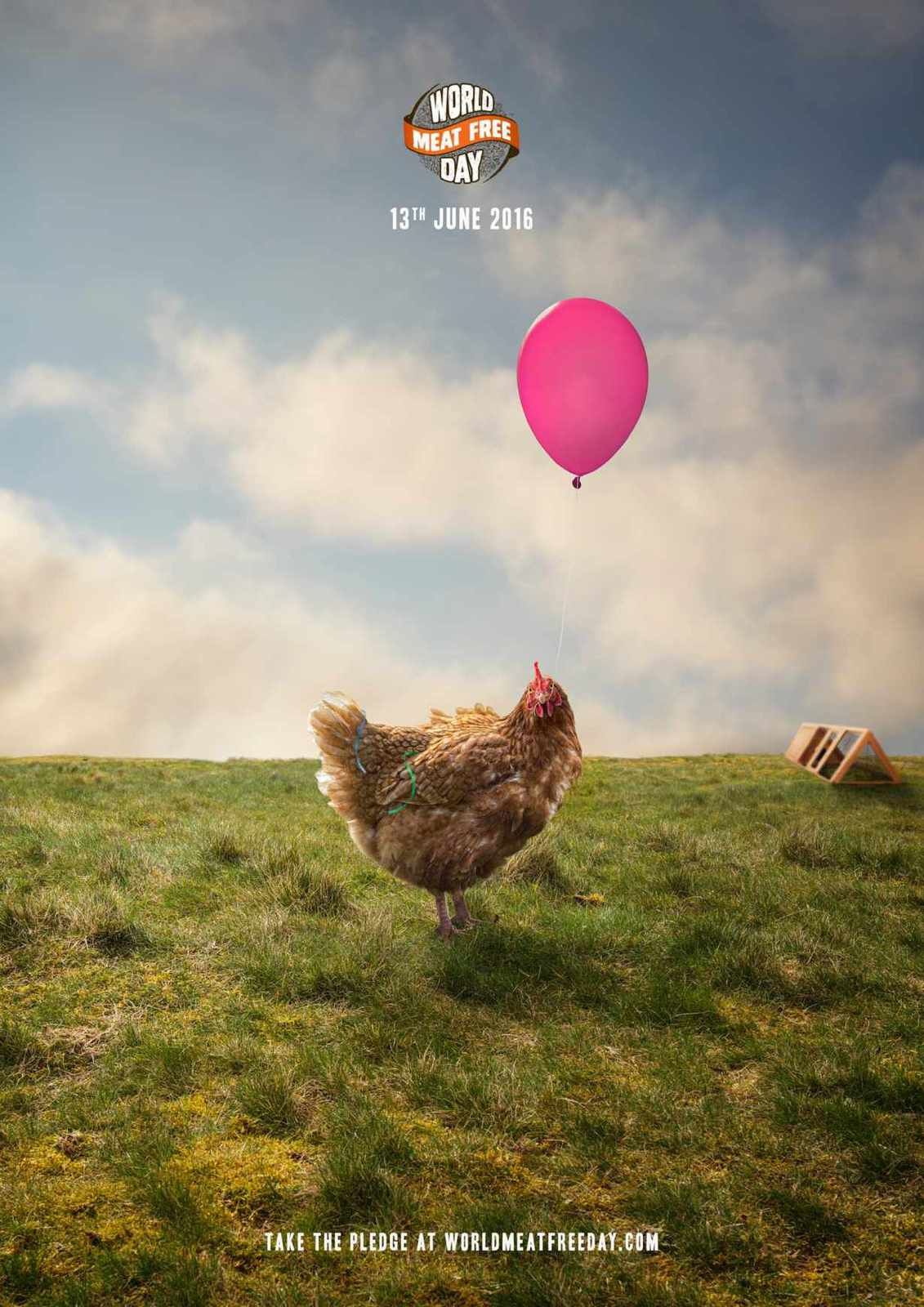 World Meat Free Day | Agence : Bigdog Agency, Leicester, Angleterre (avril 2016)