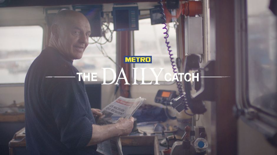 """The Daily Catch"" - METRO 
