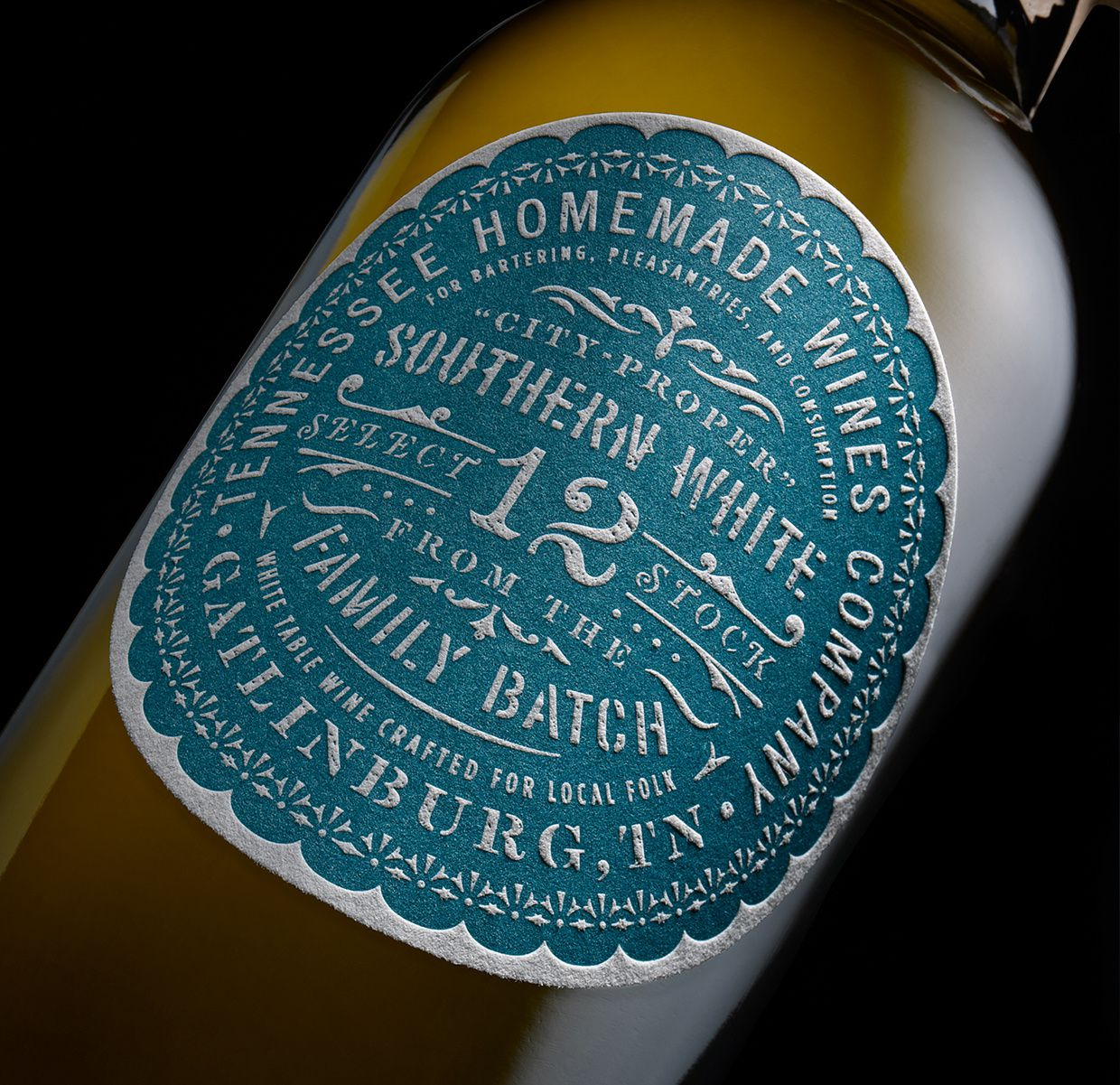 THV - Tennessee Homemade Wines (vin) | Design : Chad Michael Studio, Dallas, Etats-Unis (juillet 2016)