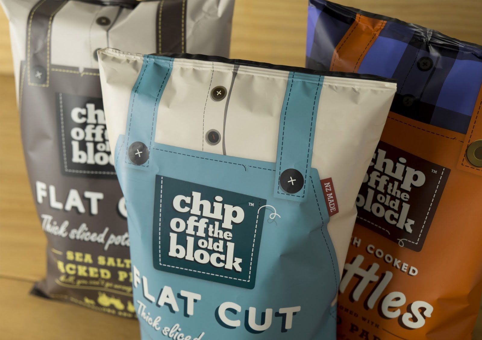 Chip Off The Old Block (chips) | Design : phd3 Limited, Nouvelle-Zélande (juillet 2016)