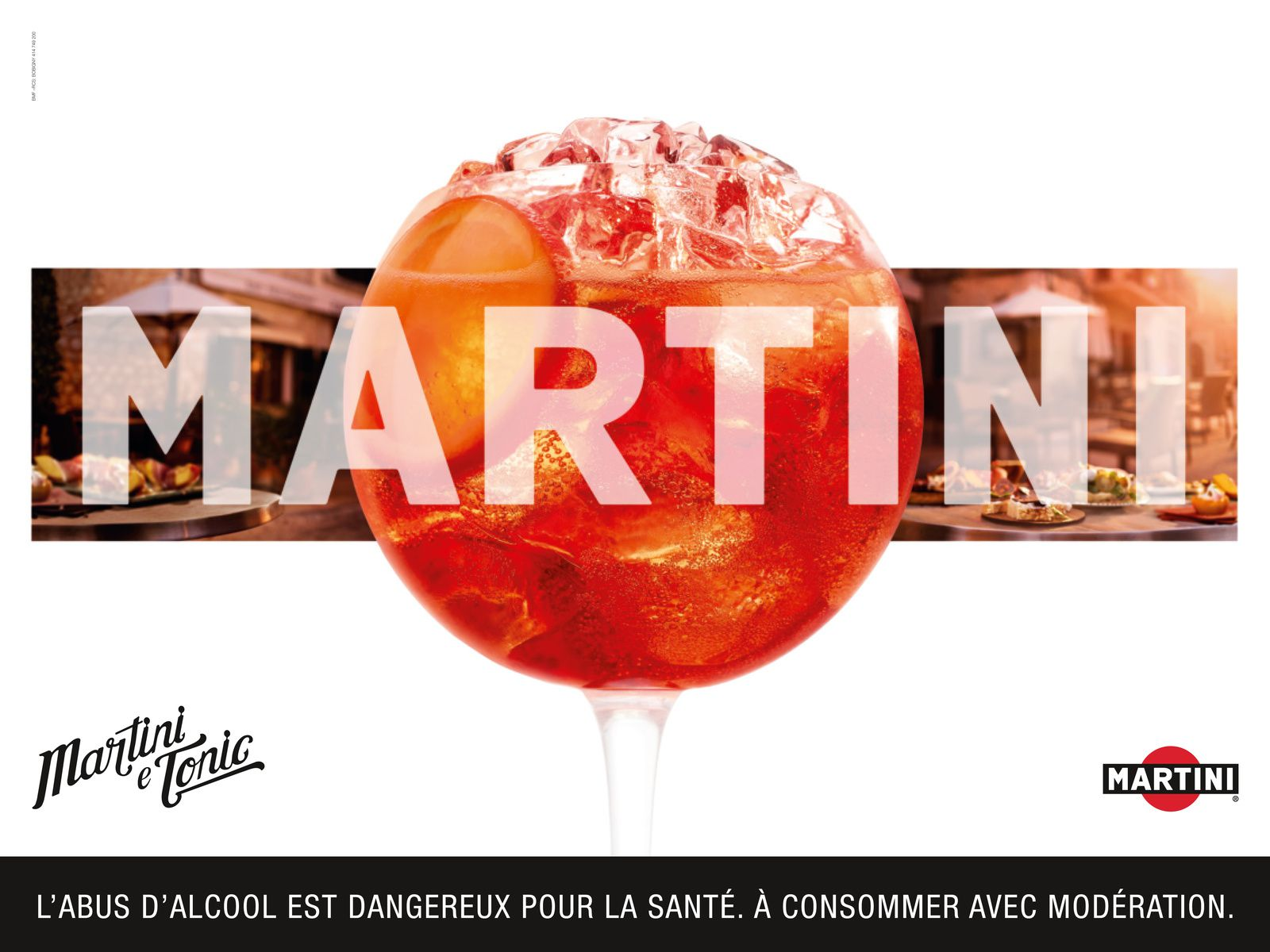 MARTINI® e Tonic (cocktail phare de la marque) - 2016