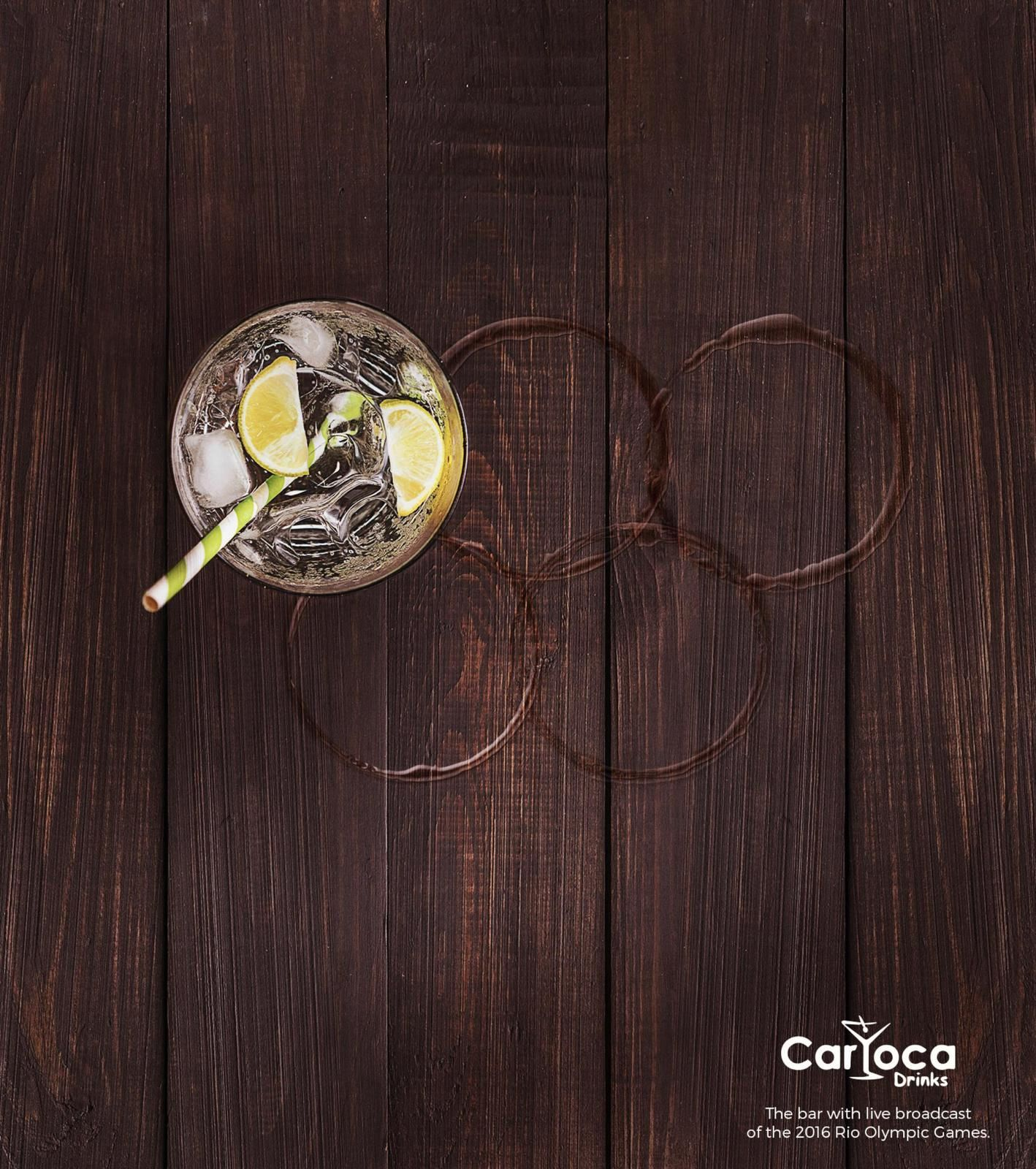 """The bar with live broadcast of the 2016 Rio Olympic Games."" - Carioca Drinks (bar) 
