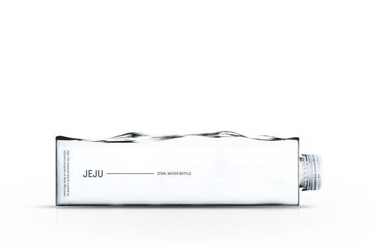 Jeju (bouteille d'eau premium) | Design : Cloudandco Design Studio, Corée (août 2016)