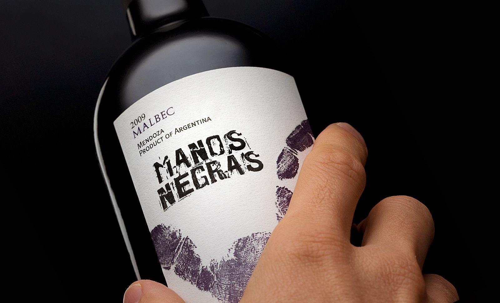 Mano Negras (vin argentin) | Design : Tao Design Argentina, Buenos Aires, Argentine (août 2016)