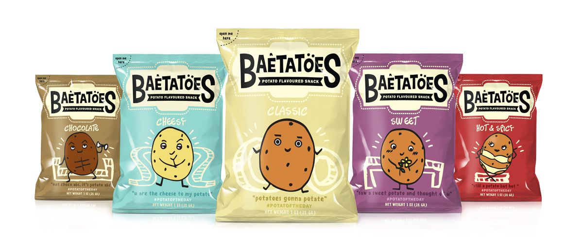 Baetatoes (chips) | Design : Citrartwork, Indonésie (août 2016)