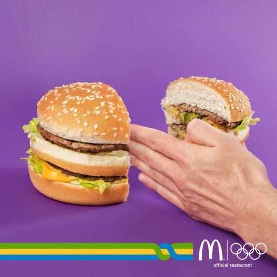 Rio 2016 - McDonald's, official restaurant | Agence : Leo Burnett, Milan, Italie (2016)