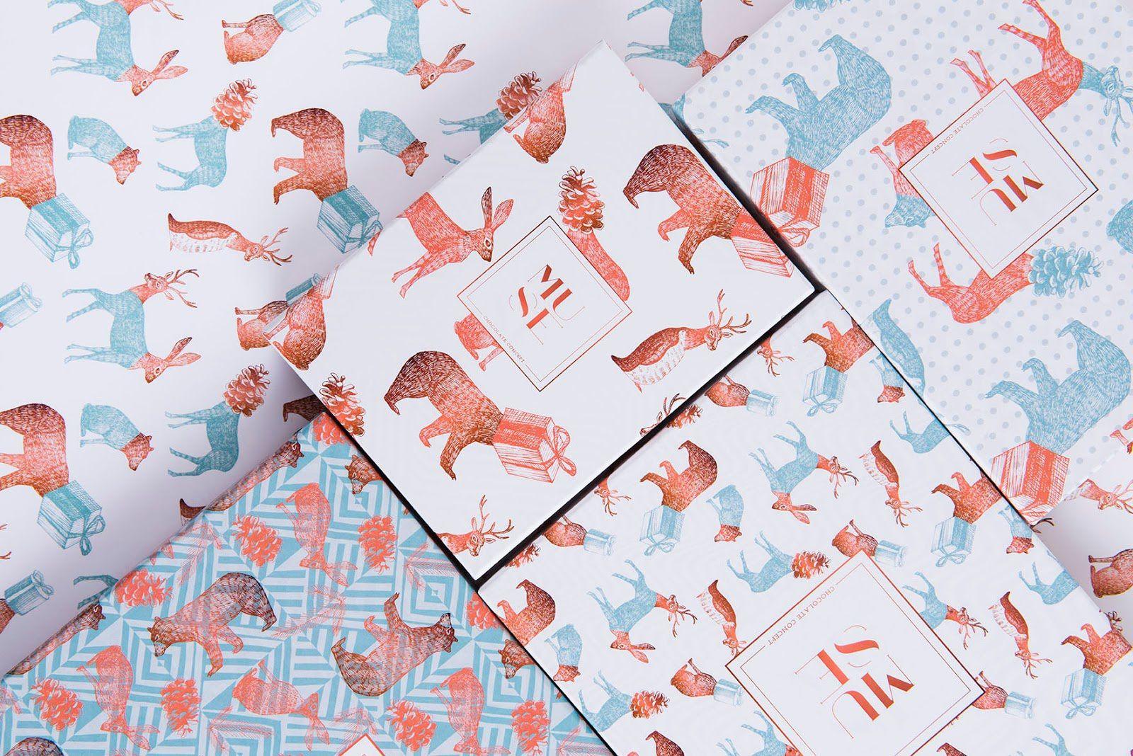 Muse Chocolate Concept (chocolats, édition spécial Noël) I Design : Mo Kalache, Espagne (décembre 2016)
