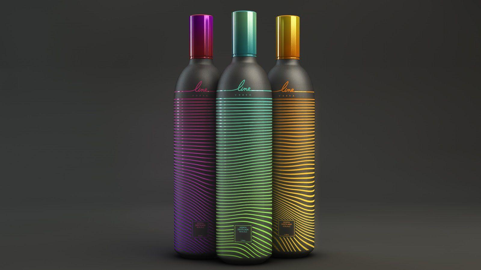 Line (vodka) I Design (concept) : MYNK(février 2017)