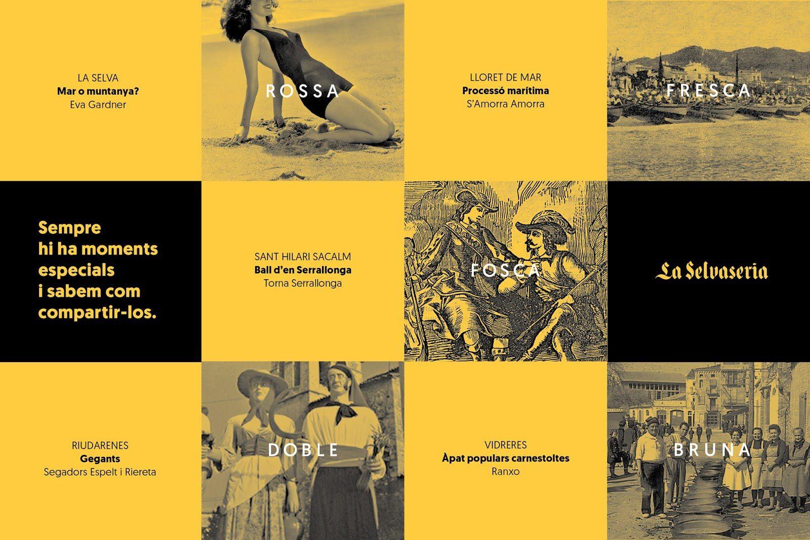 La Selvaseria (bière artisanale catalane) I Design : La Fonda Gràfica, Vidreres, Catalogne, Espagne (février 2017)
