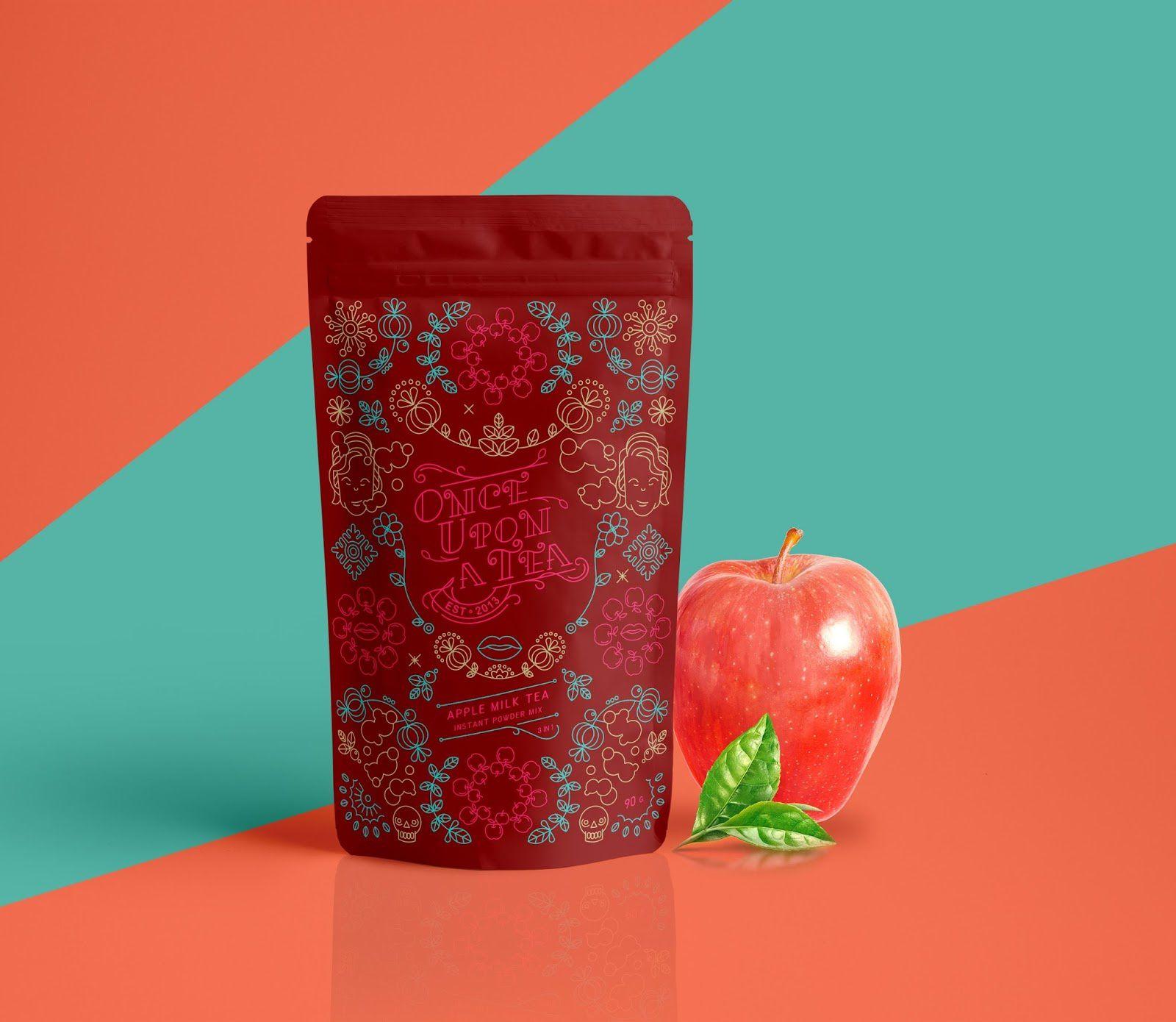 Aroma TEA - Once Upon a Tea (thés aromatisés aux fruits) I Design : WONDER MACHINE STUDIO, Thaïlande (février 2017)
