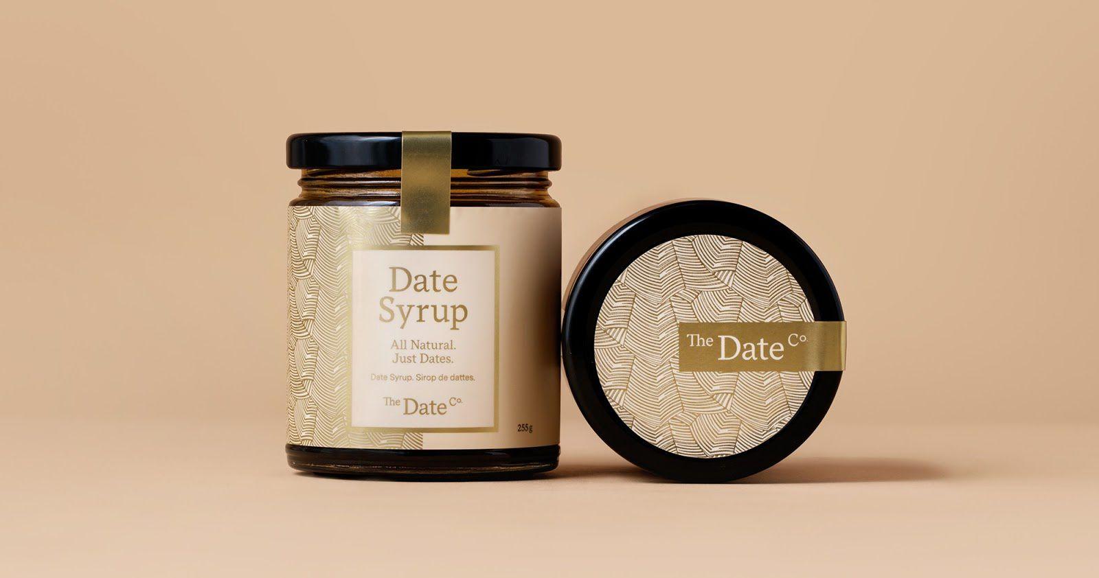 he Date Co (spécialités à base de dattes) I Design : Glasfurd & Walker, Vancouver, Canada (juin 2017)