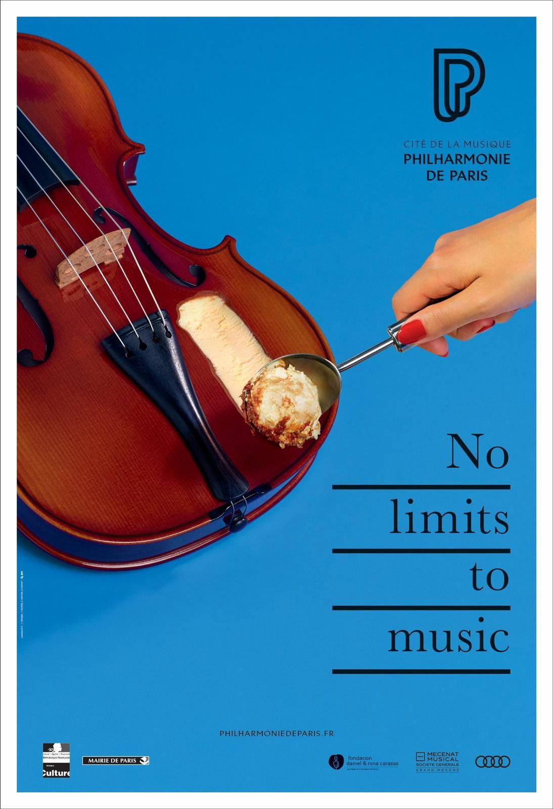"Philharmonie de Paris - ""No limits to music"" I Agence : BETC, Paris, France (septembre 2017)"