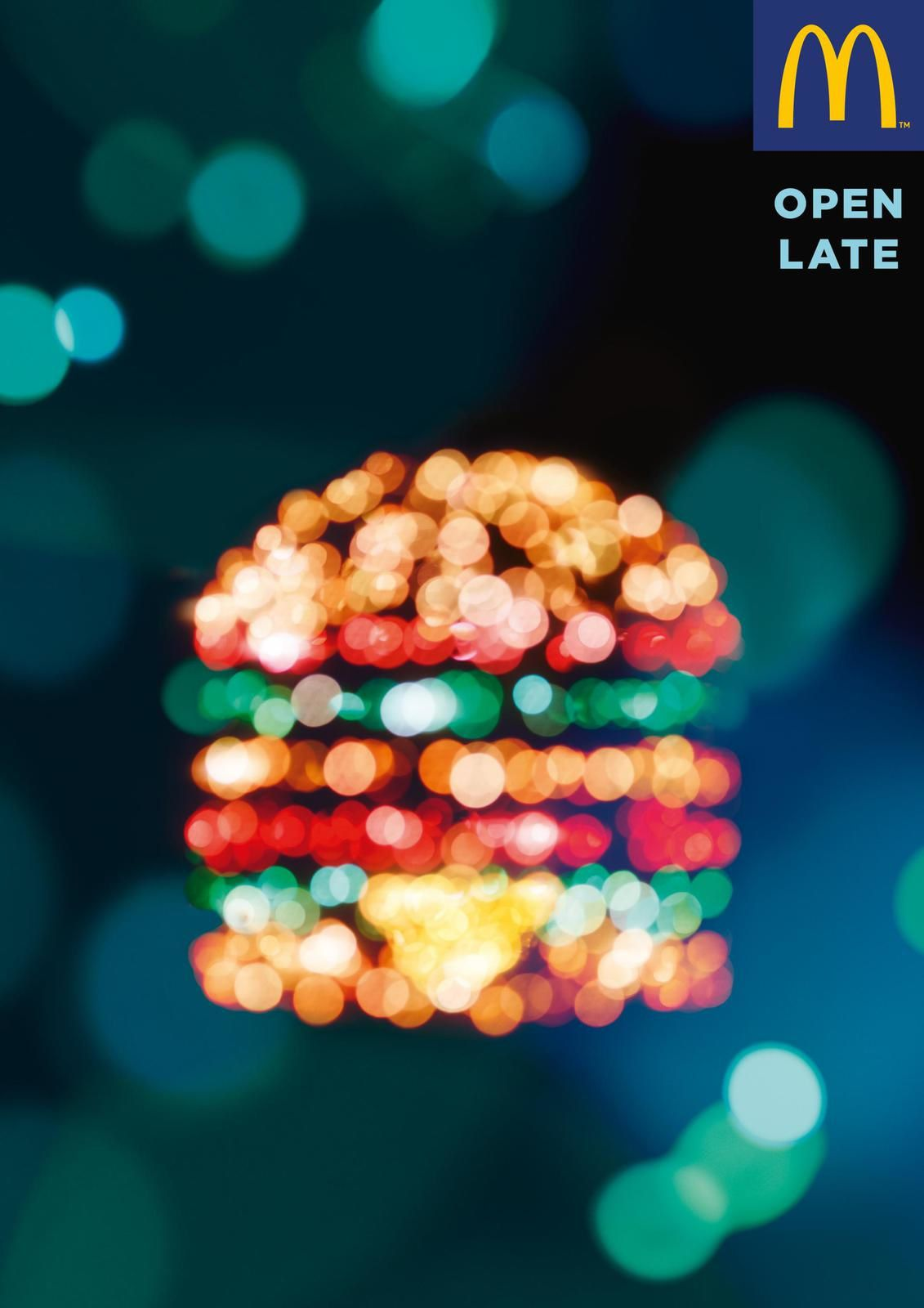 "McDonald's - ""Open Late"" I Agence : TBWA\Paris, France (septembre 2017)"