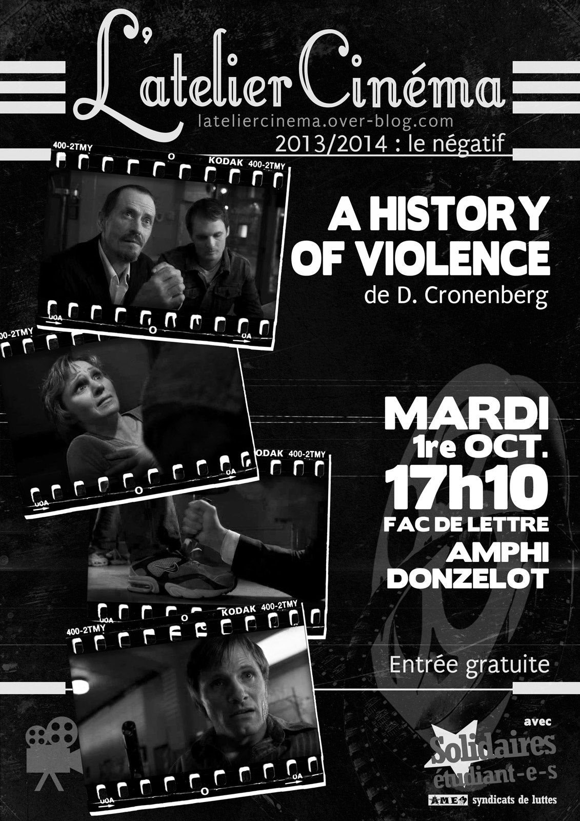 1re OCT. A History of violence