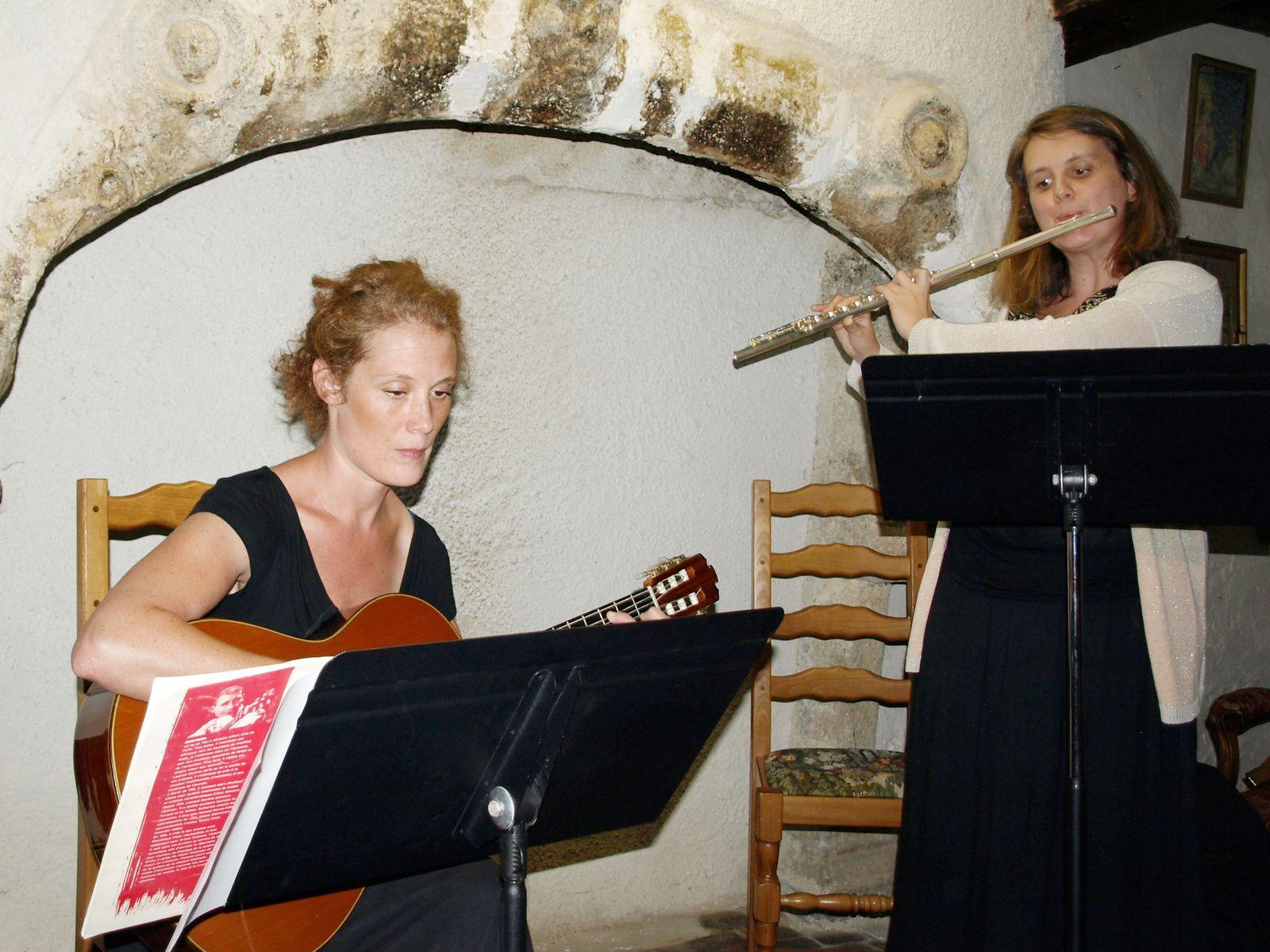 Guitare Flûte et Poésie chez Jean