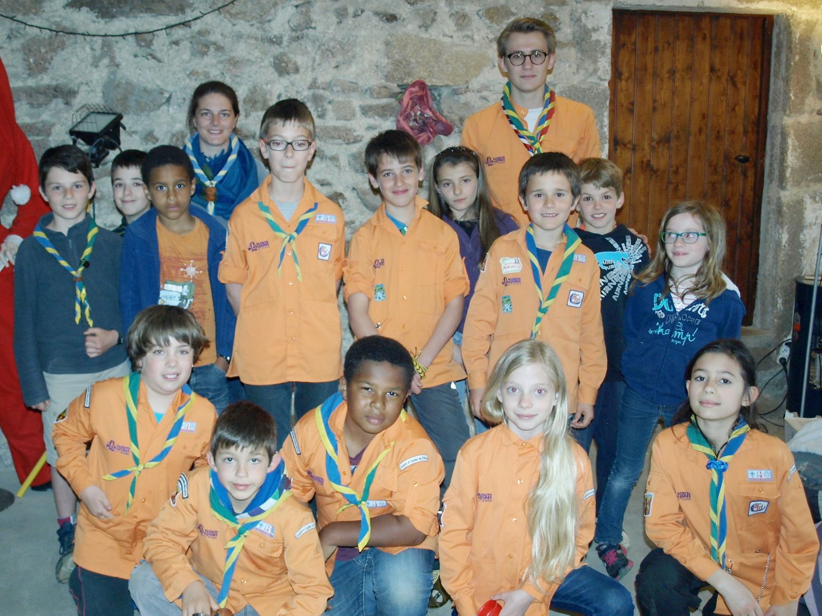 Des scouts à Saint Haon