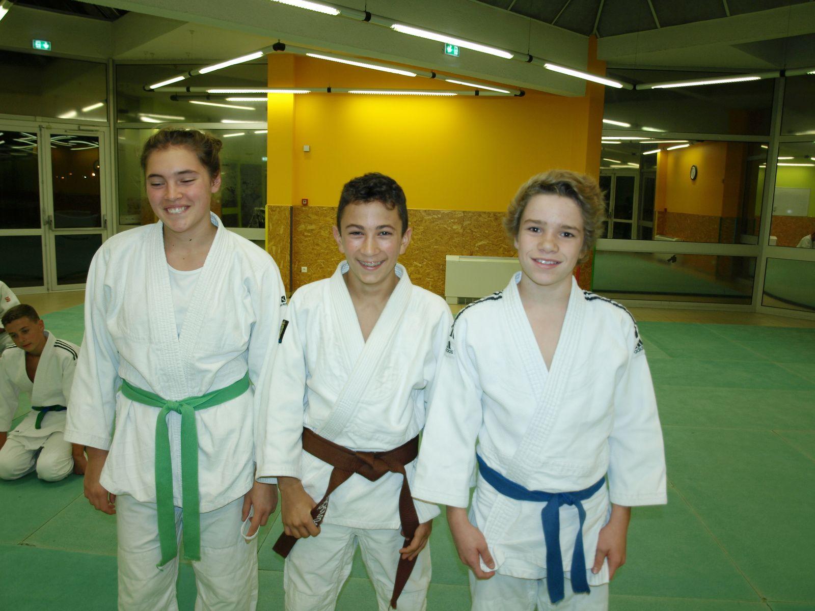 Du Judo avec l'Amicale