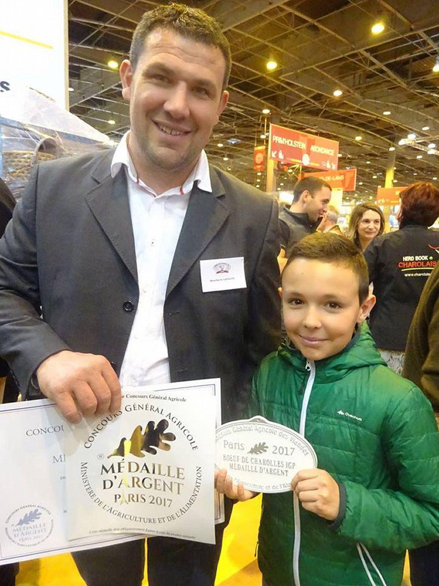 Médaille d'argent pour Benoît Lapalus