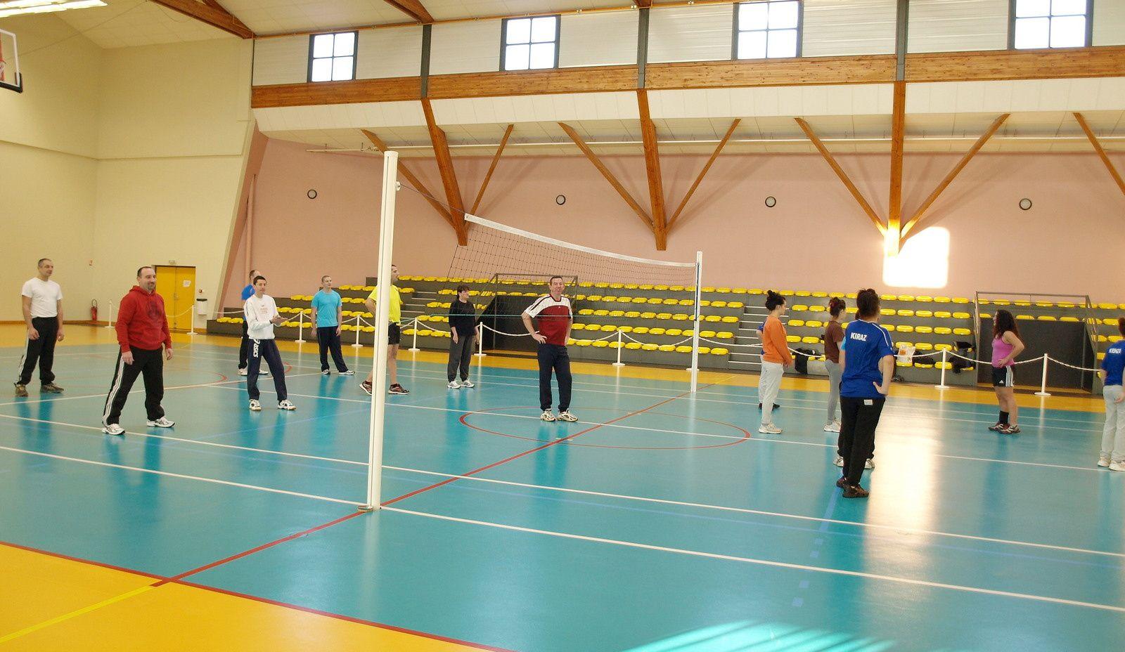Tournoi de Volley hors norme