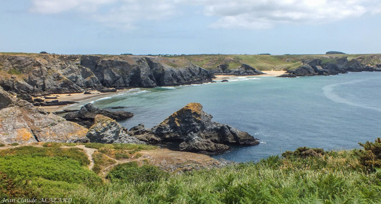 Belle Ile : Port Coton - Pointe St Marc