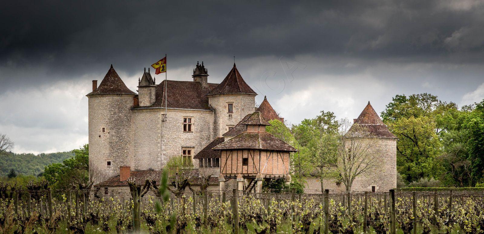 Caillac :Château Lagrezette