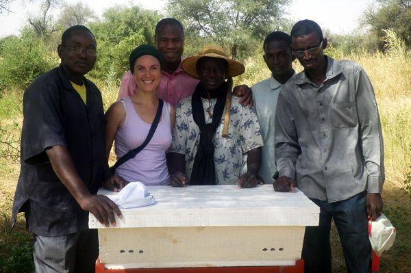 Formation apicole à Sélibaby