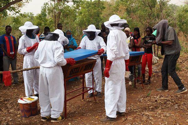 Notez que notre ami Thierno avait mis sa vareuse à l'envers &#x3B;-) Mais on lui pardonne c'était la première fois !